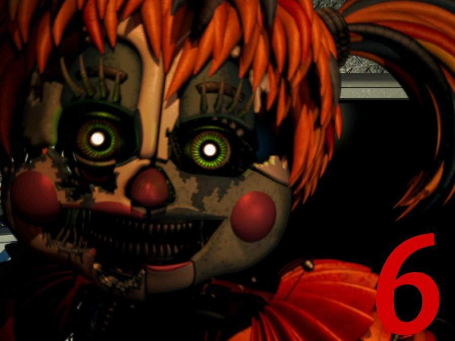 Scrap Baby is Fnaf 6 Icon | Five Nights At Freddy's Amino