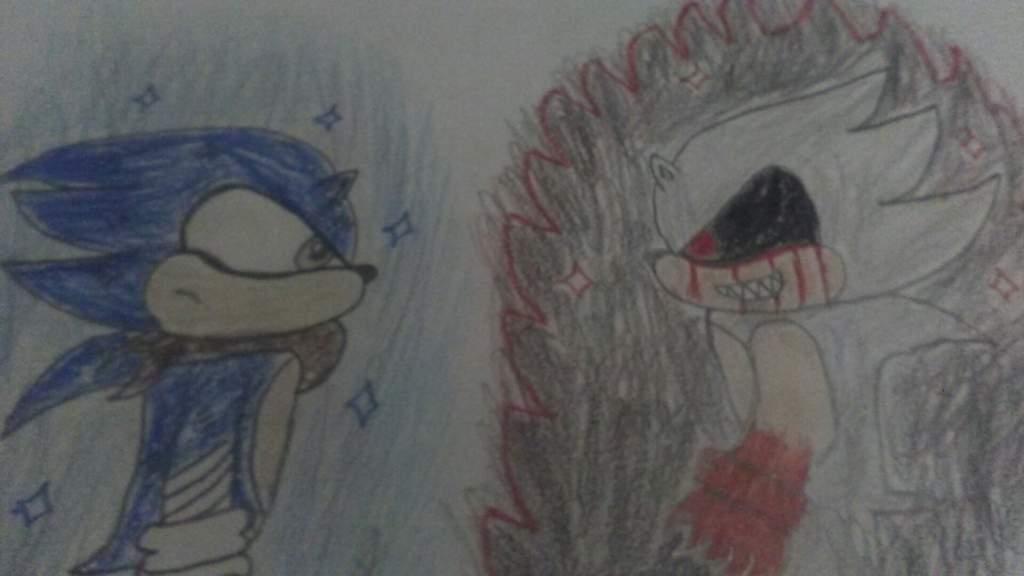 Ultra Instinct Sonic vs Hyper Sonic exe | Sonic the Hedgehog! Amino