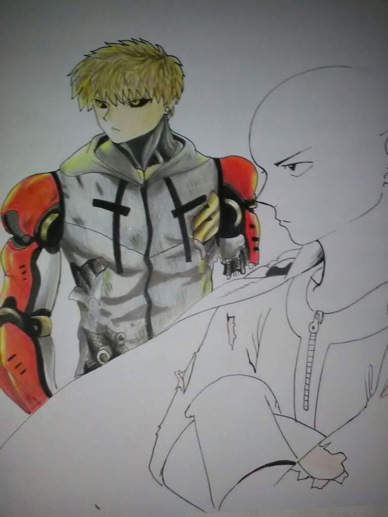 Dibujo One Punch Man   •Anime• Amino