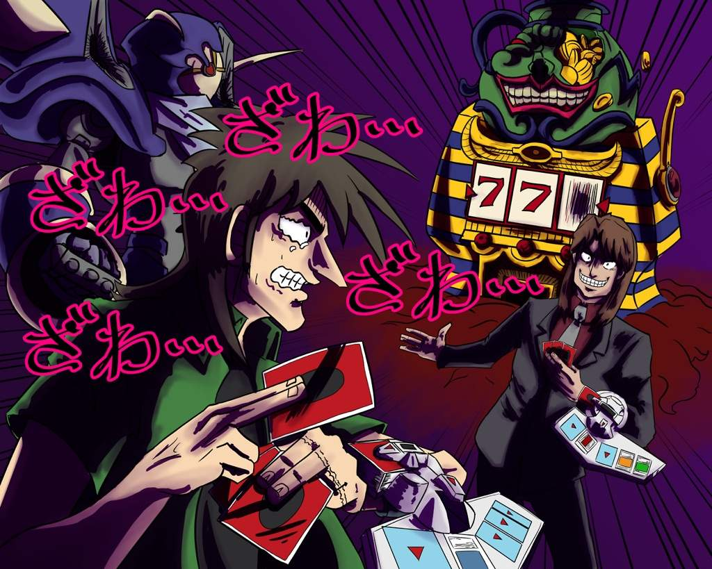 16d407c8f Collab] The Path To Survival - Kaiji in Yugioh | Anime Amino