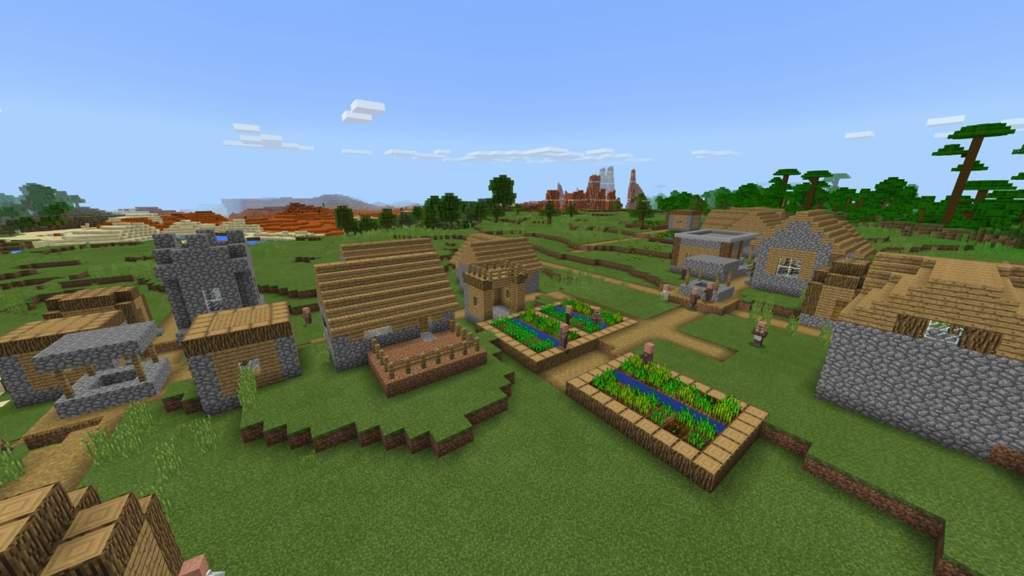 Bedrock Seed 1785205033 Minecraft Amino