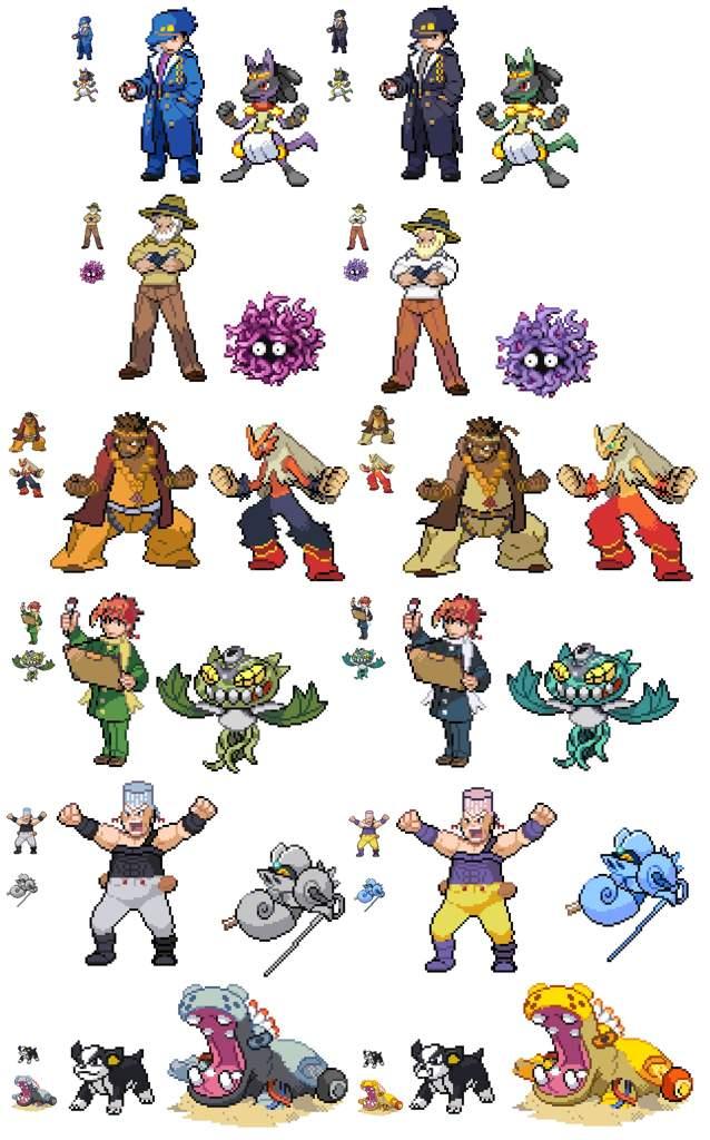 Pokémon x JoJo mashup! | Pokémon Amino