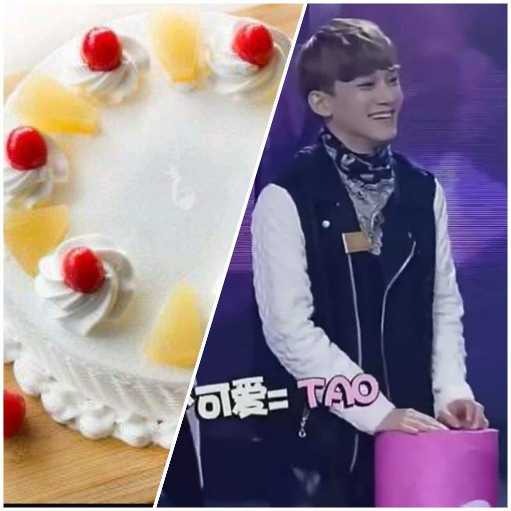 EXO as Cakes EXO Amino