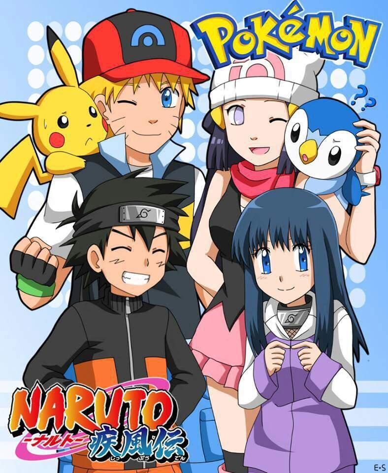 Naruto X Pokemon Crossover Naruto Amino