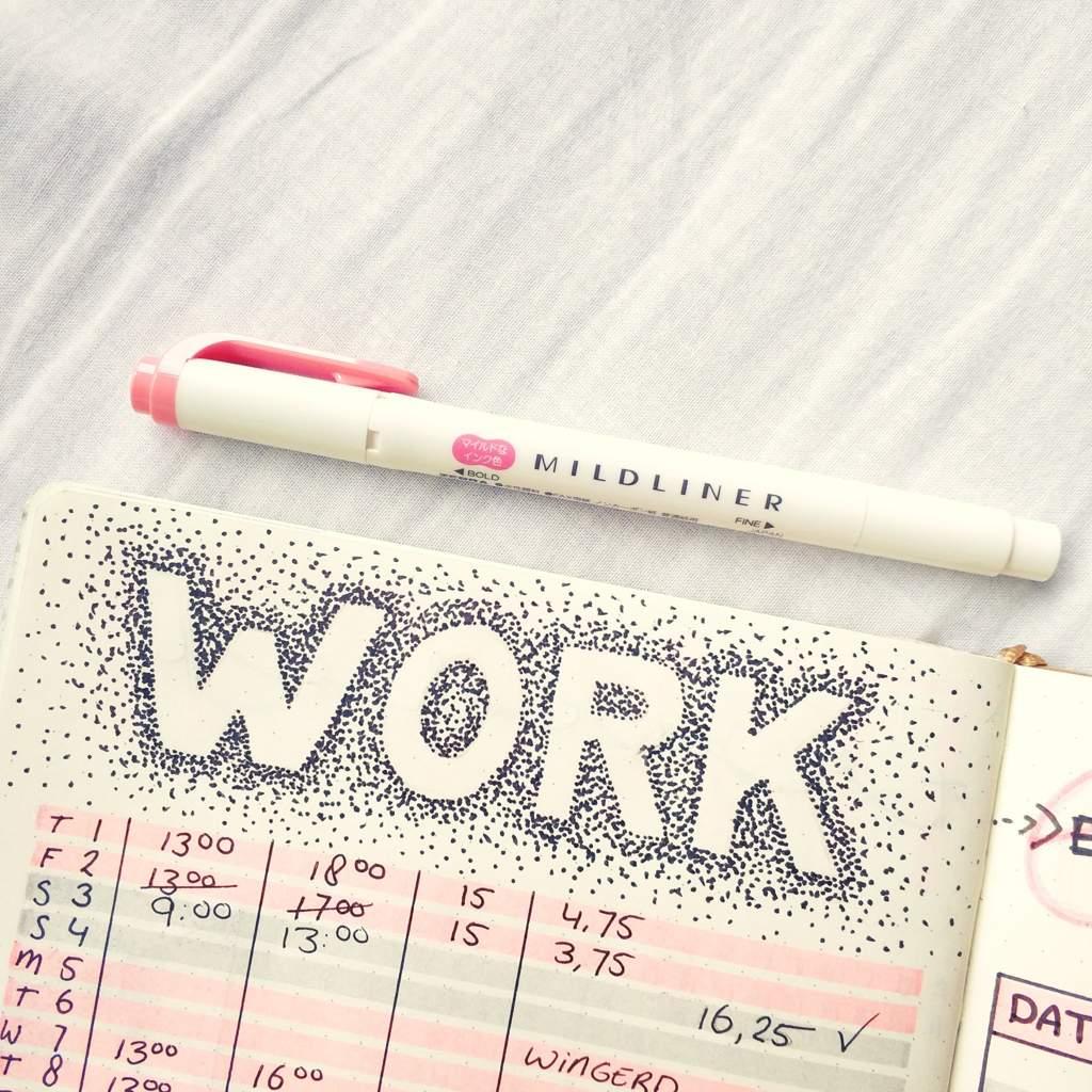 february s work tracker bullet journal amino