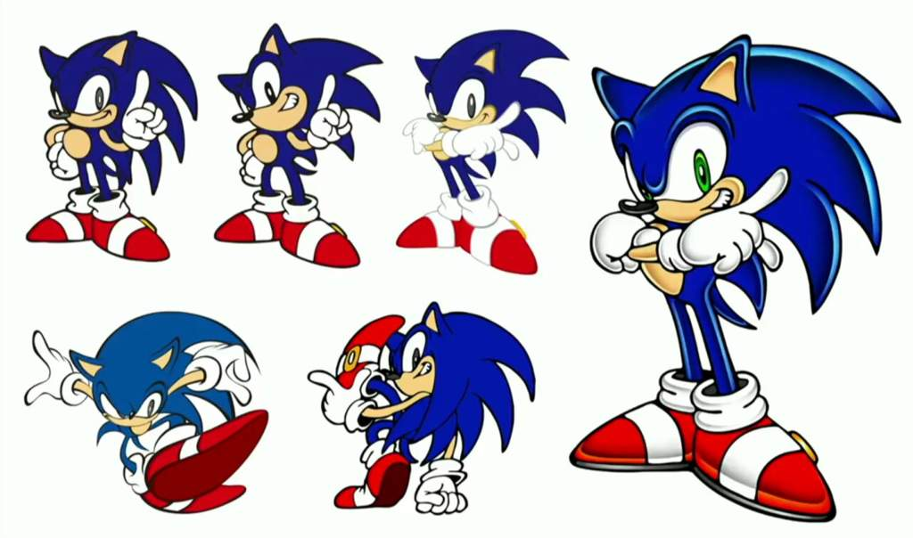 A Look At Sonic Concept Art Sonic The Hedgehog Amino