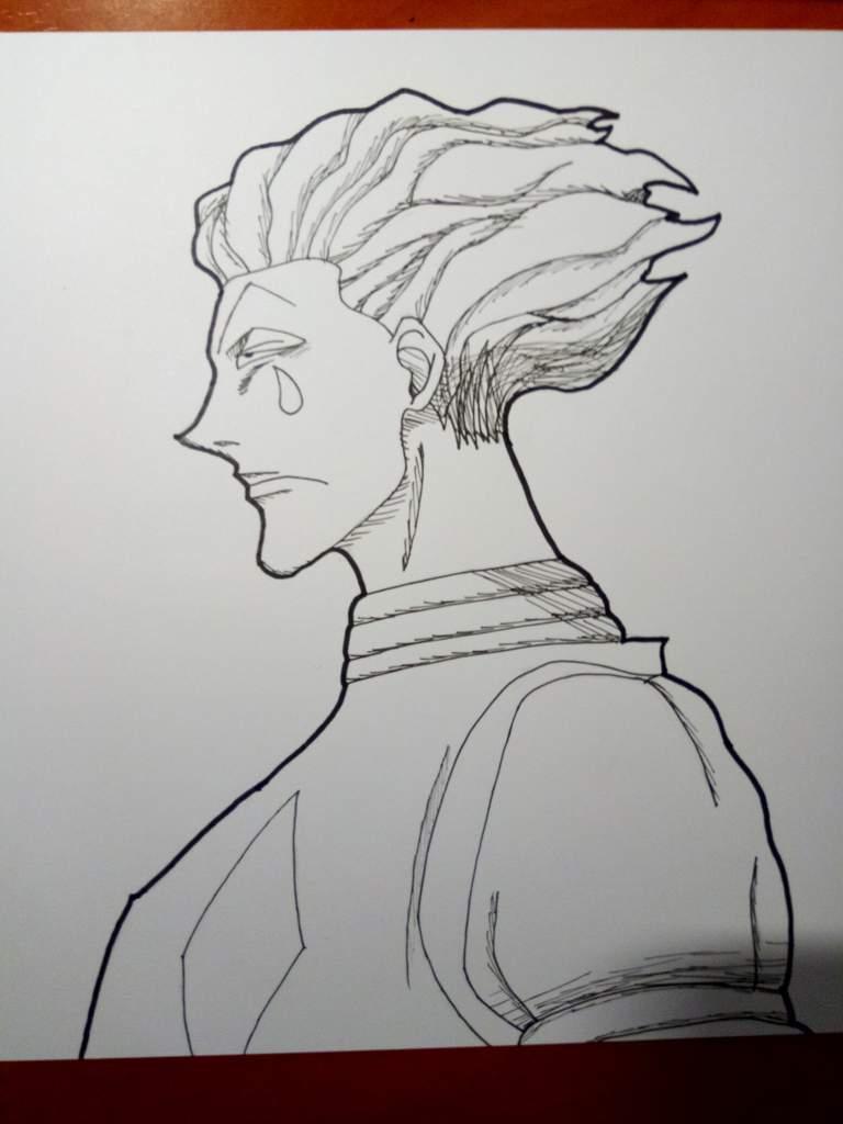 My Attempt Of Drawing Hisoka From Hunter X Hunter Anime Amino