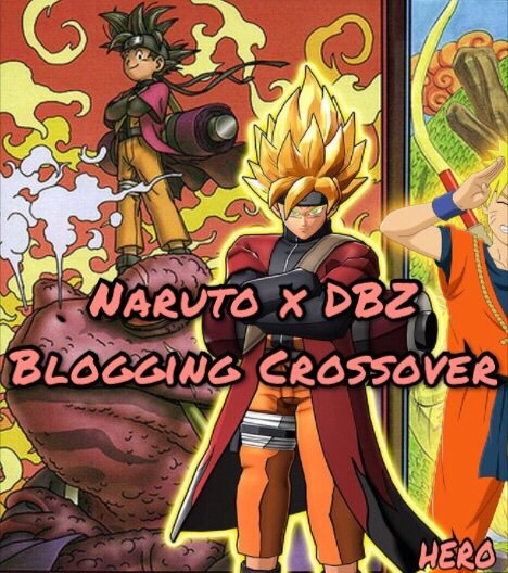 Naruto X DBZ Crossover Challenge: Blog Section