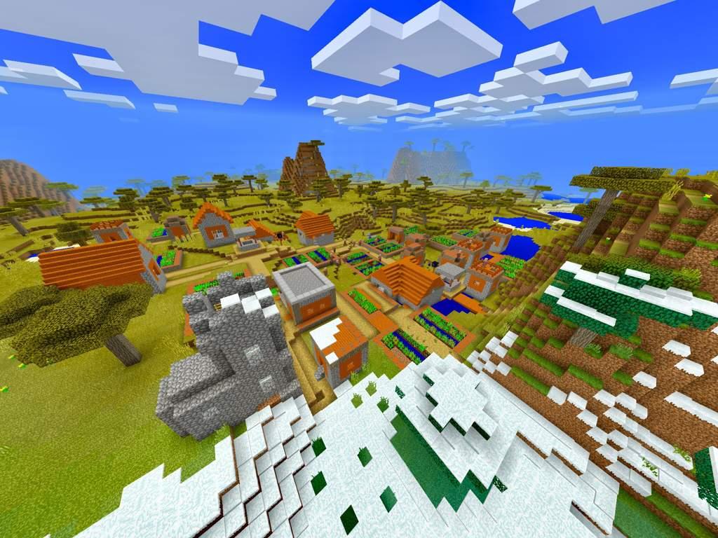 V1 2 Bedrock Edition Seed 1131981637 Minecraft Amino