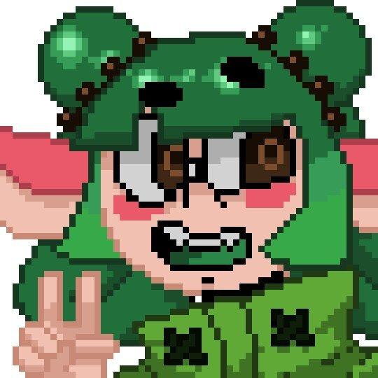 Dingo Pixel Art Icon Splatoon Amino