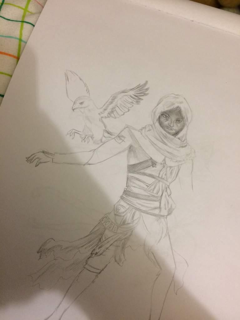 Failed Bayek Drawing Assassins Creed Amino