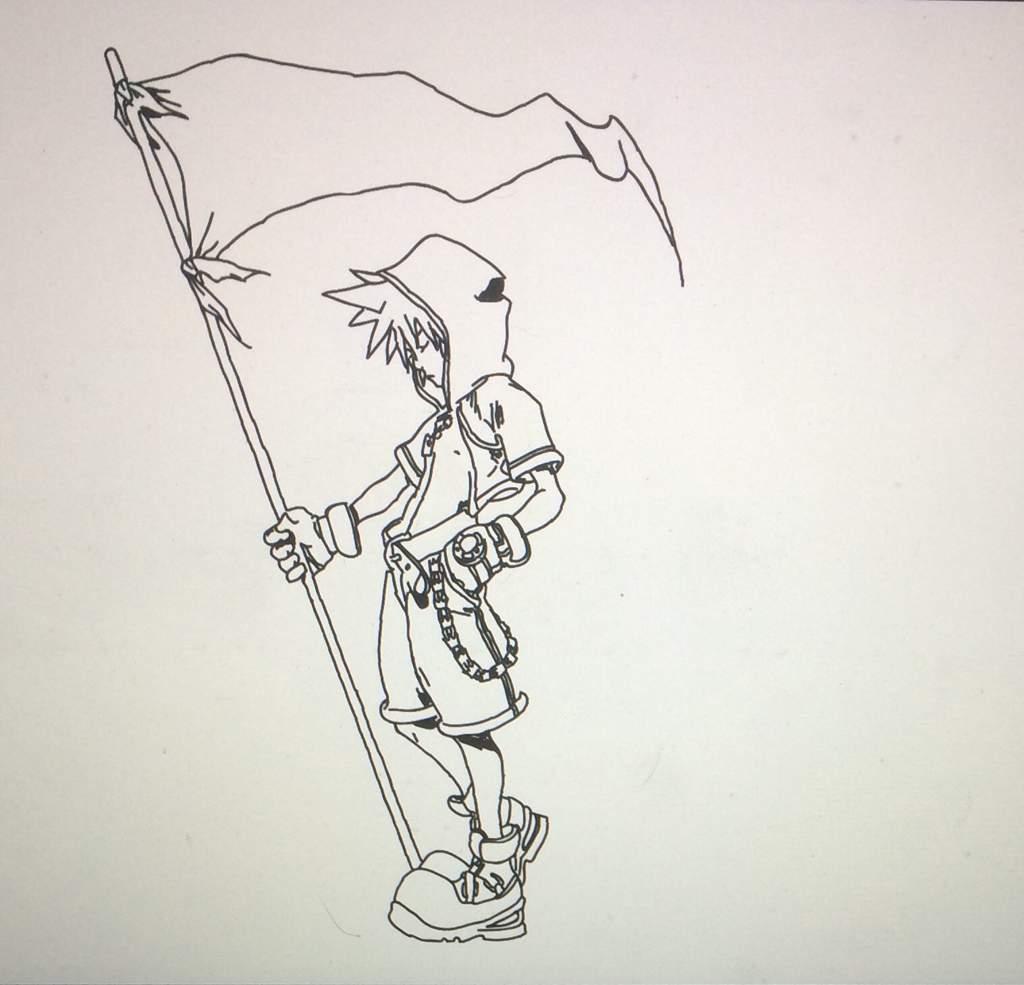 Kingdom Hearts Drawings Kingdom Hearts Amino