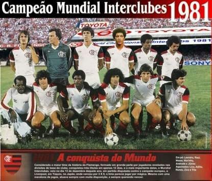 Mundial 1981 | Wiki | Clube De Regatas Do Flamengo Amino