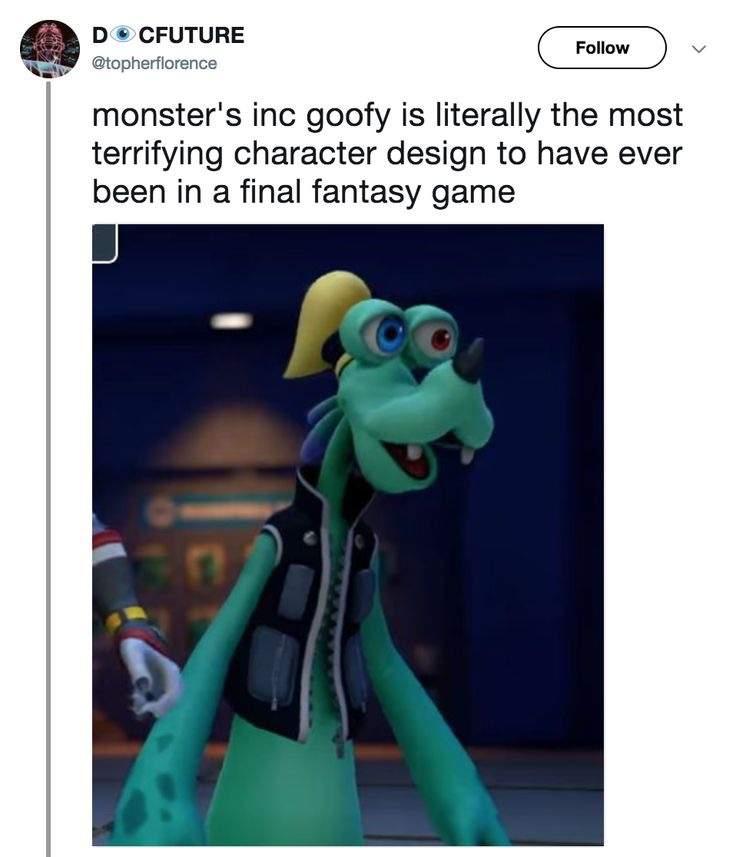 Kh3 Monsters Inc World Goofy Is A Meme And Kylo Ren Kirby Dank Memes Amino