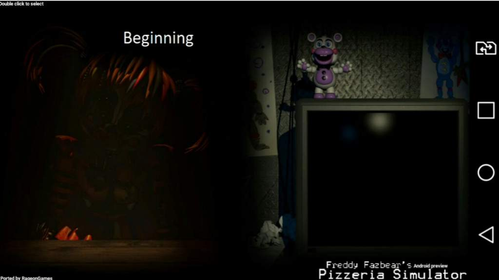 FNAF 6/Freddy Fax bear pizzarea simulator on android | Five