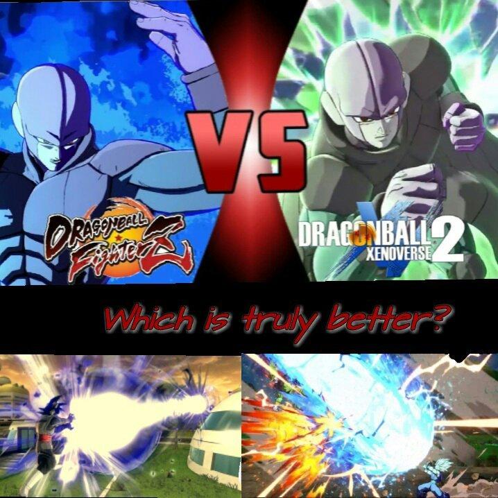 Xenoverse 2 Vs  FighterZ | DragonBallZ Amino