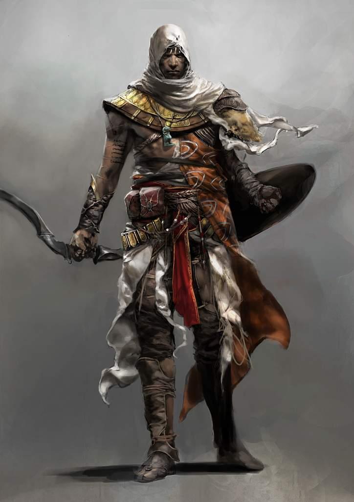 Pixelated Bayek Of Siwa Assassins Creed Amino