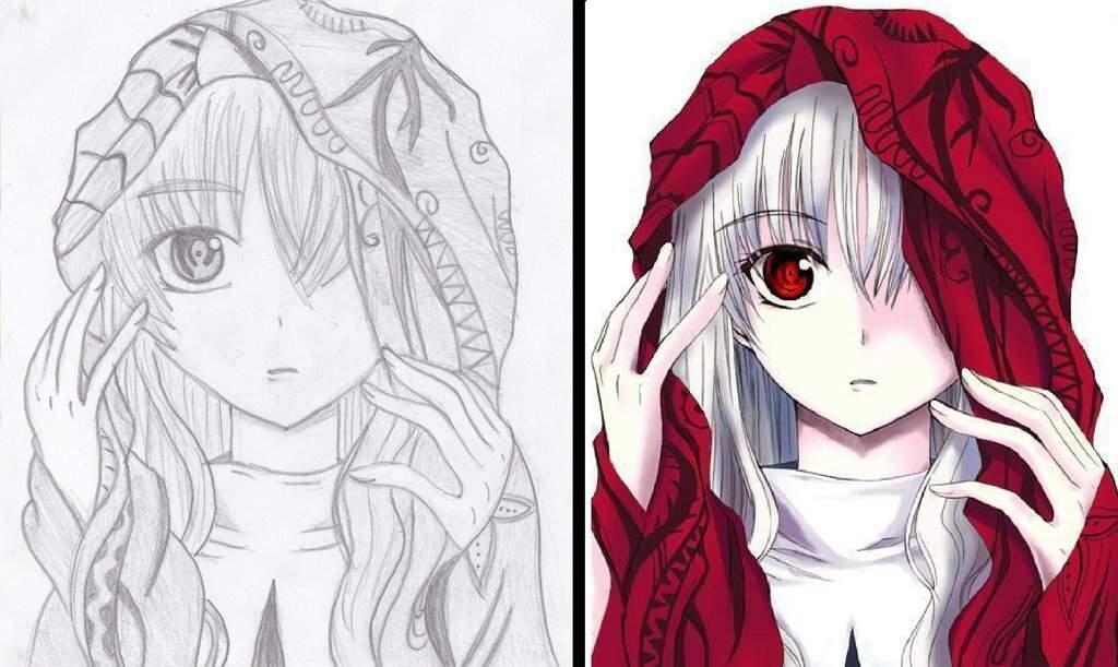 Картинки на 8 марта аниме для срисовки
