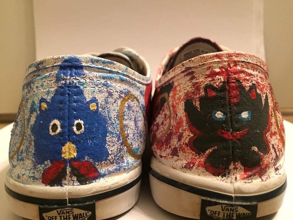 Custom Sonic Shoes Sonic The Hedgehog Amino