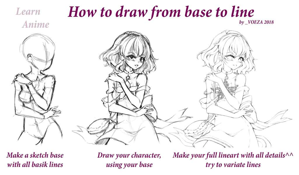 Drawing Tutorial Anime Amino