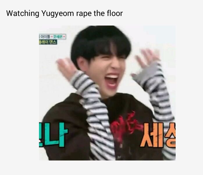Can well all come to the consensus that Yugyeom killed his