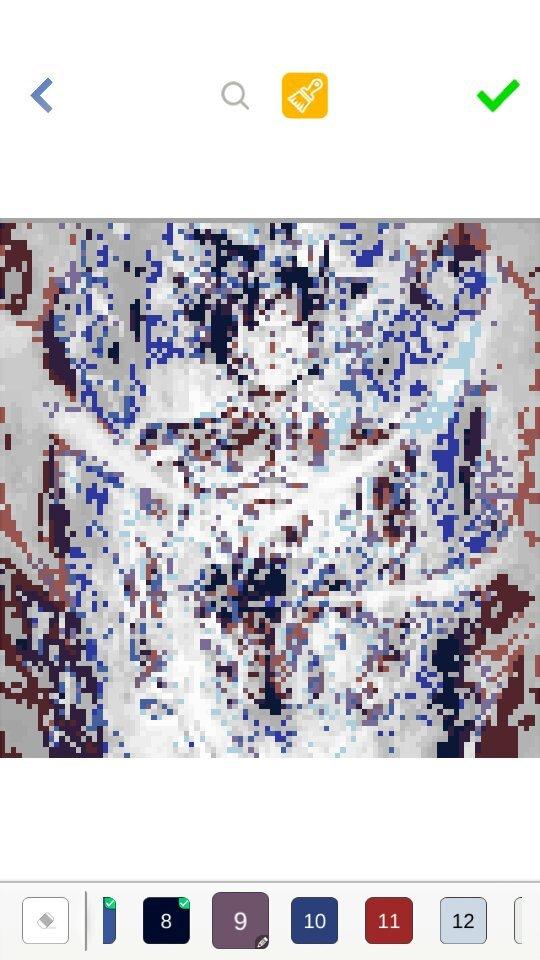 Pixel Art Ui Goku Wip Dragon Ball Super Official Amino