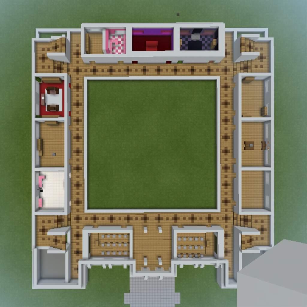Minecraft: Akademi High School 🖤•Floor
