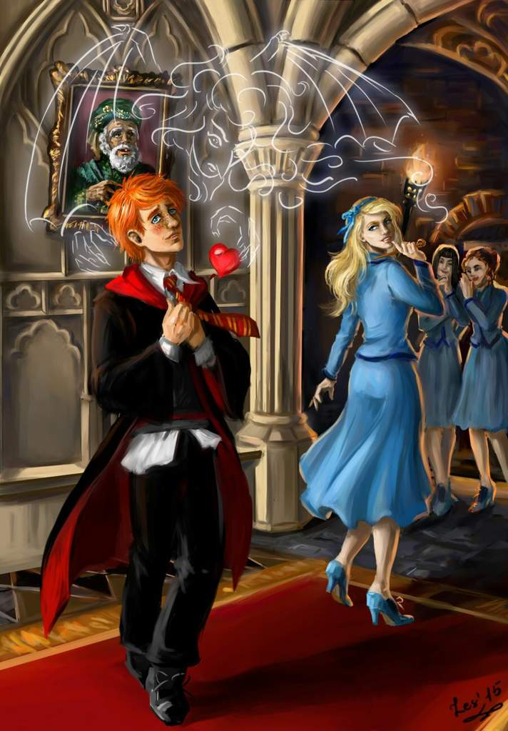 Fleur And Ron Harry Potter Amino