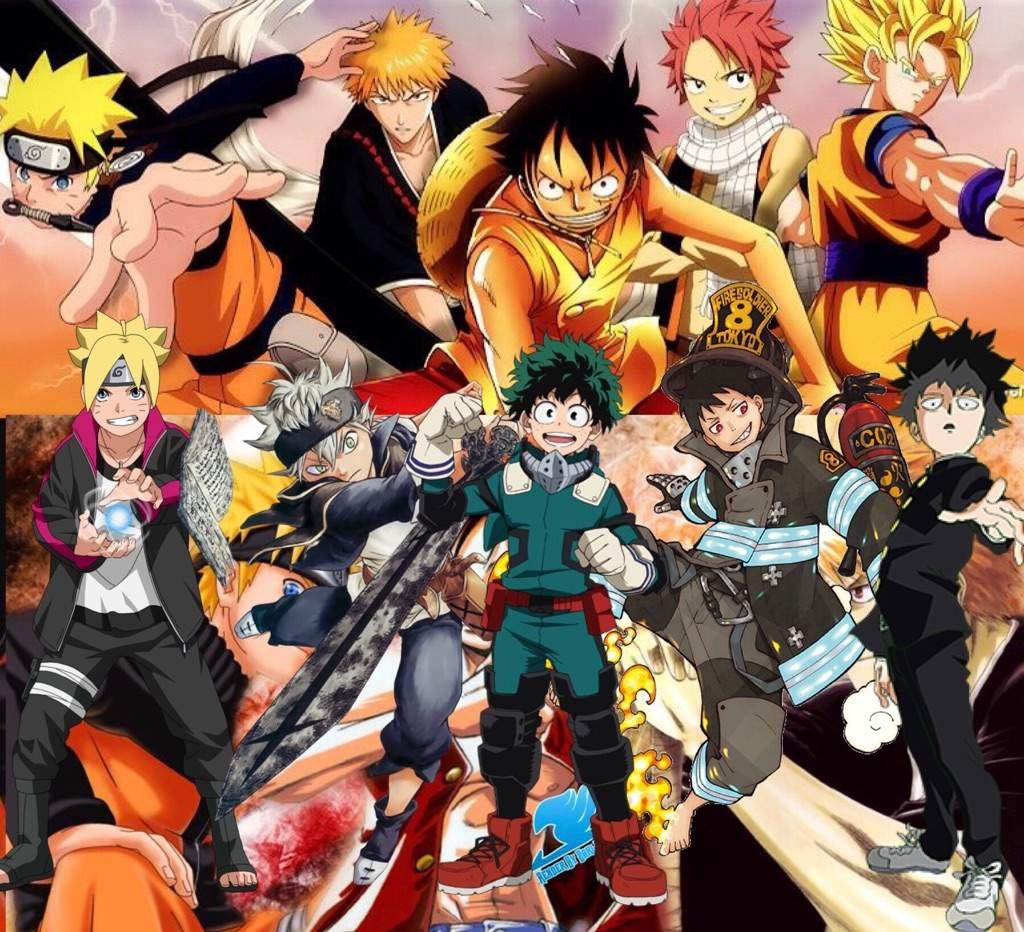 My Hero Academia Big 3 Powers Free Download Wallpaper