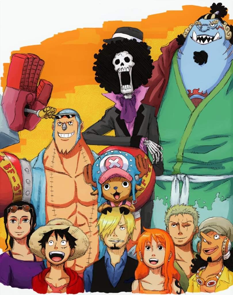 La banda completa | •One Piece• Amino