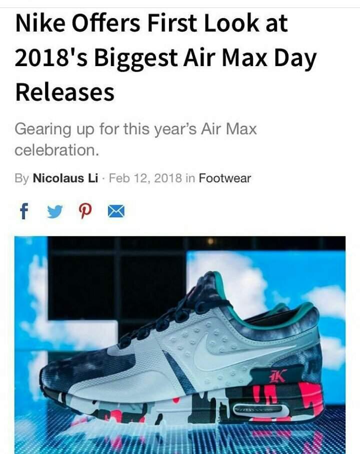 reputable site 9bf52 6d2da Nike Air Max Zero (Design by Wang Jun Kai) | TFBOYS [加油 ...