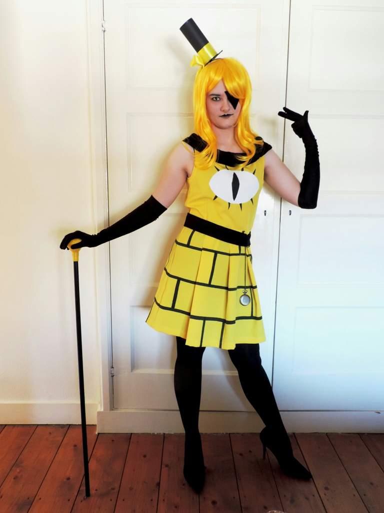 Bill cipher female cosplay