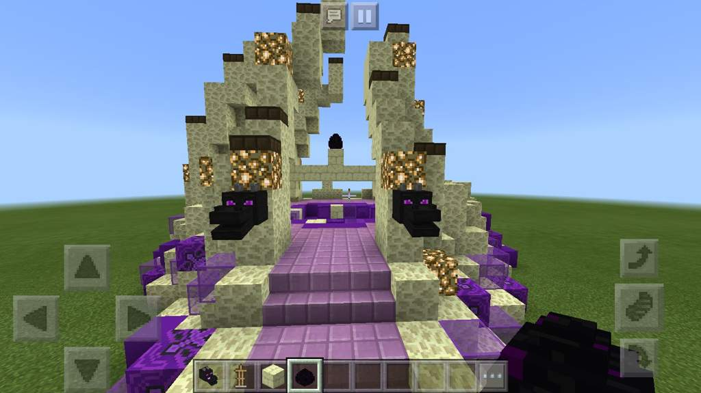 First fan build, the End Portal! | Minecraft Amino