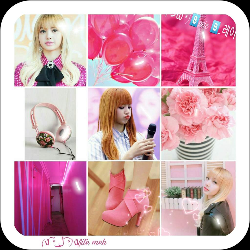 My firts Aesthetic!(Pink Lisa Aesthetic)