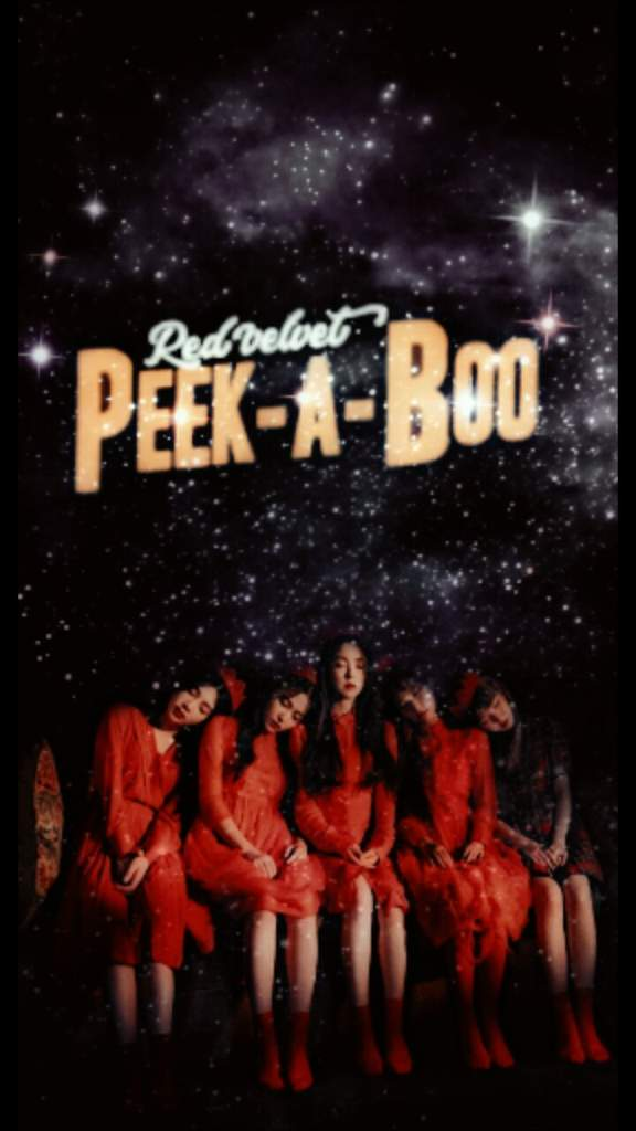 ゚ My Peek A Boo Wallpaper ゚ Red Velvet Amino
