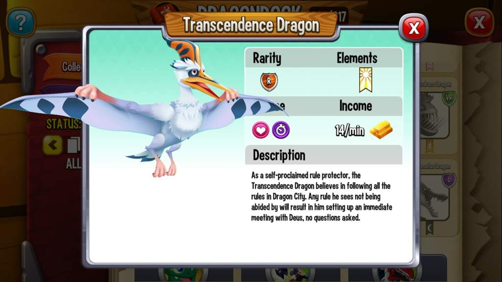 all elements in dragon city