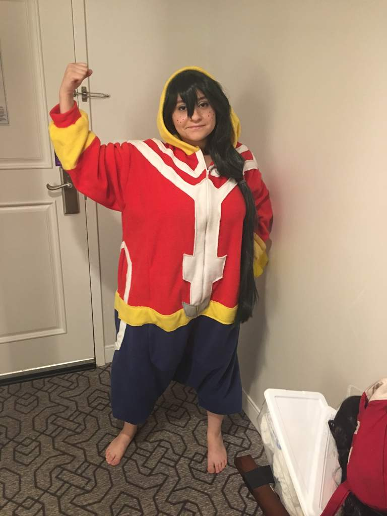 All Might Onesie Cosplay