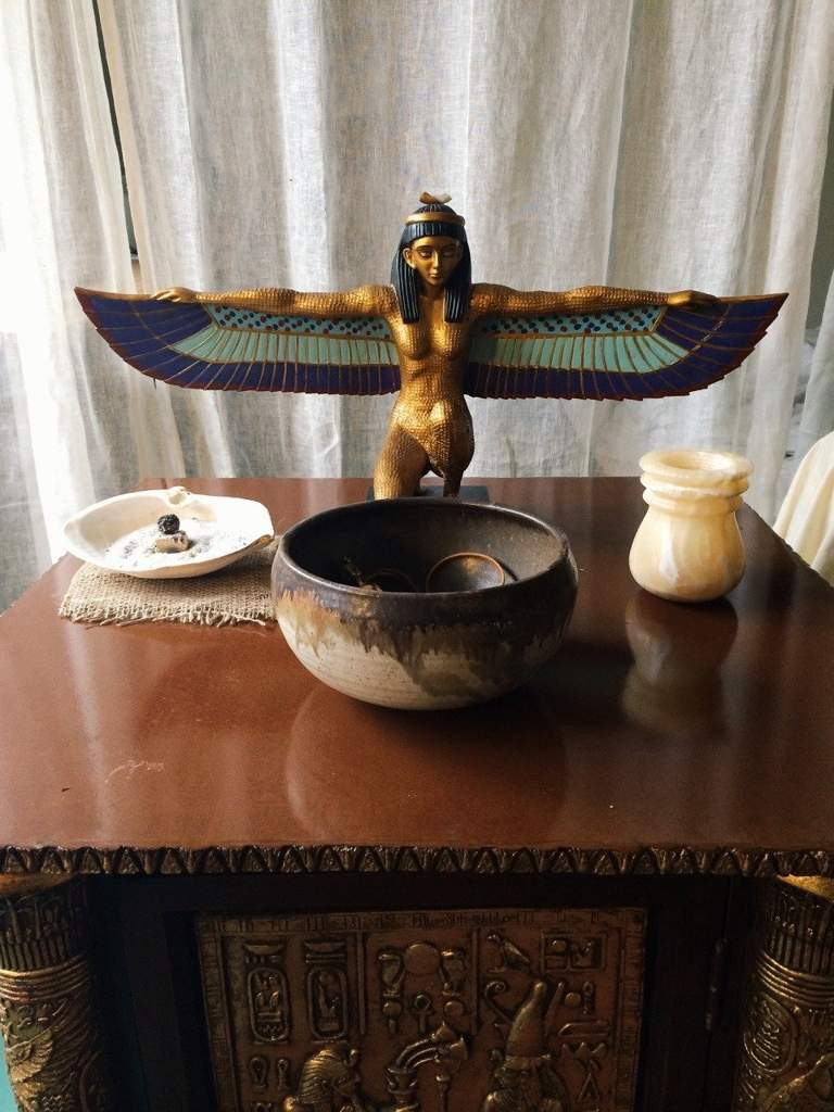 Kemetic Shrines | The Witches United Amino