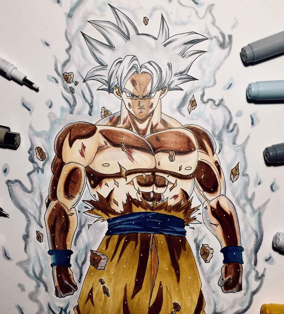 Dessin Nouvelle Forme De Goku Anime Et Manga Amino