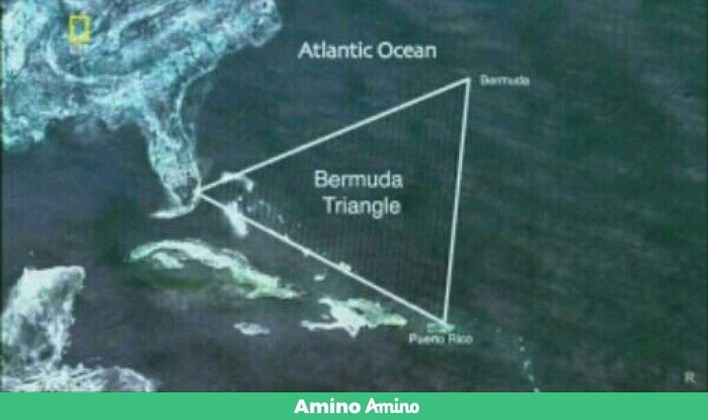 يغطي مثلث برمودا نحو 1،140،000 كم². ويحده خط وهمي يبدأ من نقطة قرب  ملبورنبفلوريدا مروراً ببرمودا ثم بورتوريكو لينتهي بفلوريدا مرة أخرى.
