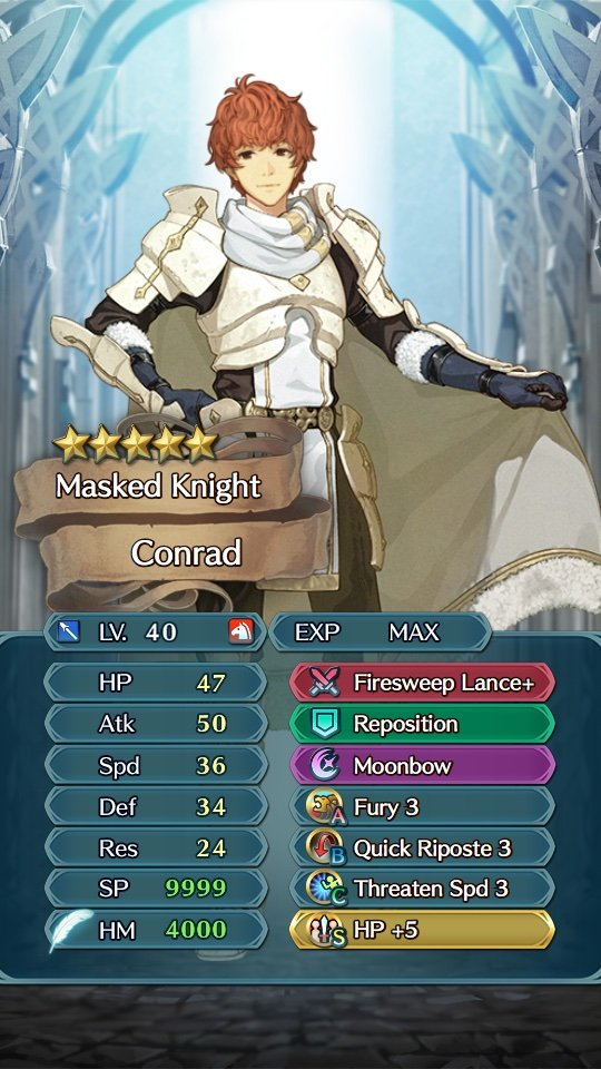 Would you like to see Conrad in FEH? | Fire Emblem Amino