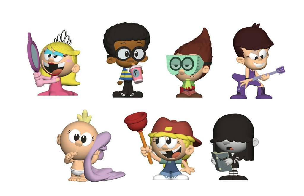 Official Loud House Figures And Plushes The Loud House