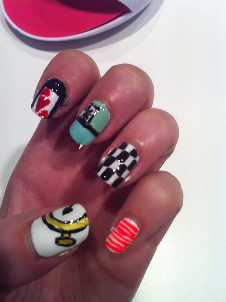 Alice In Wonderland Nails 2 Wonderland Amino
