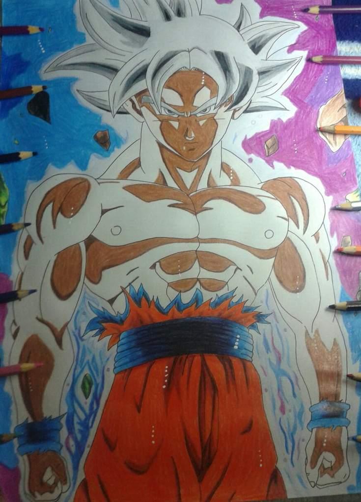 Fanart Goku Instinto Superior Completo Otanix Amino