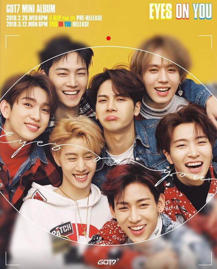 Image result for eyes on you got7 album cover