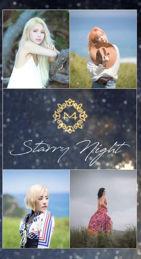 starry night wallpaper mamamoo amino