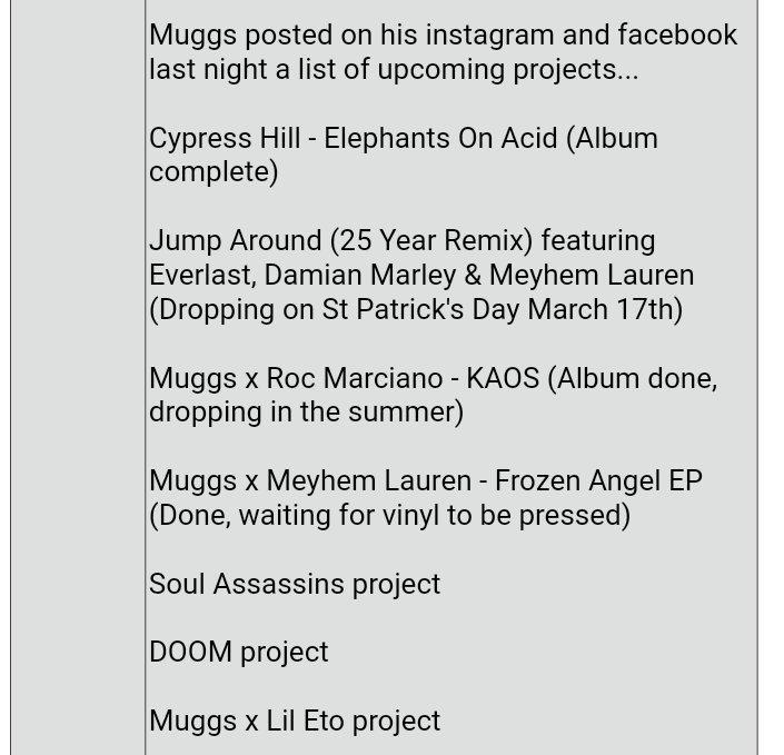 Upcoming Soul Assassains Projects | Rap & Hip-Hop Amino