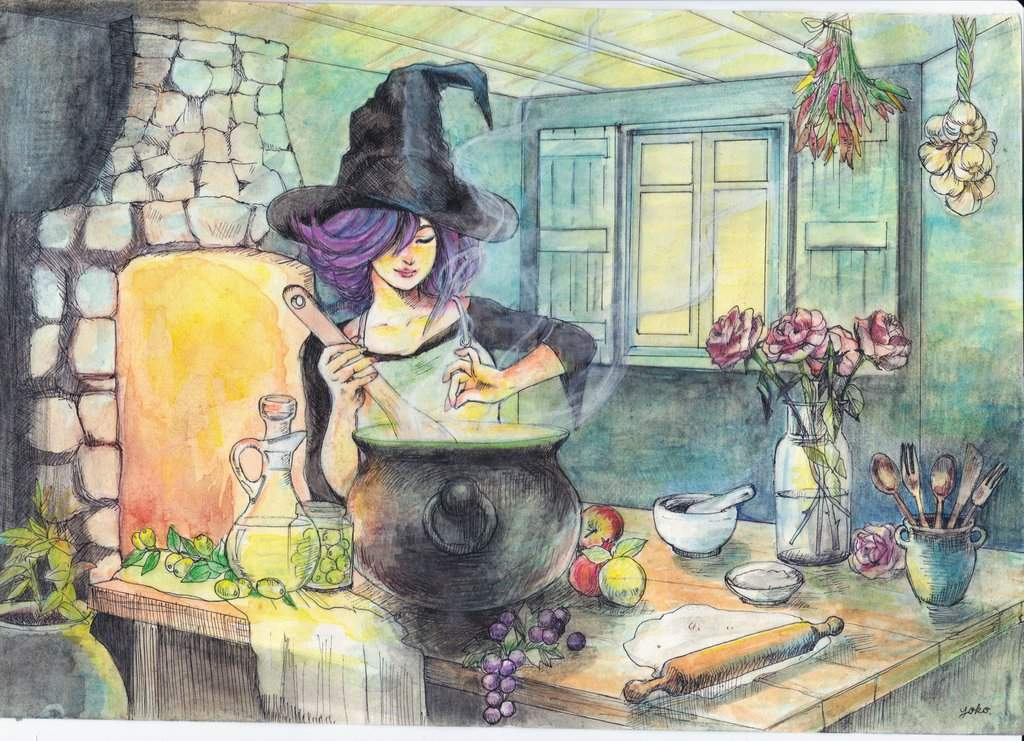 🍣 Kitchen Witch Challenge 🍣 | The Witches' Circle Amino