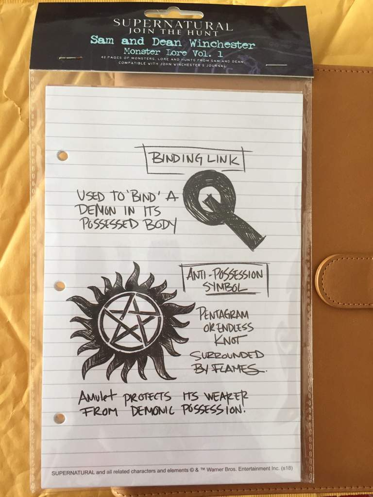 picture relating to John Winchester Journal Pages Printable identified as Magazine Web pages Came! - Supernatural Amino