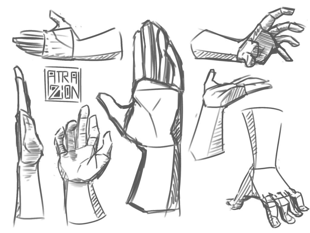 hand sketches art amino The Other List i got bored the other day decided to practise some stuff